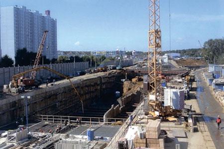 Комплекс «Серебряноборческих» тоннелей. Устройство гидроизоляционной системы основных конструкций.